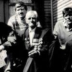 П.Ф. Сизых с сыновьями