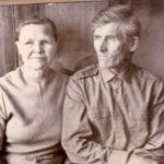 П.Ф. Сизых с супругой Анной Ивановной